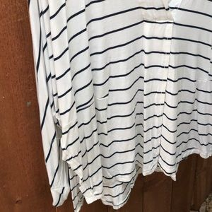 Free People Tops - We The Free Striped Pullover Shirt